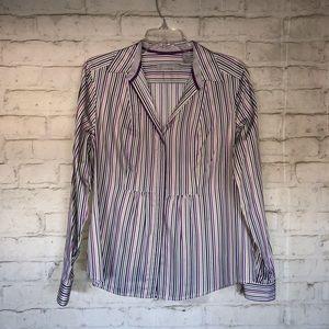 Liz Clairbone Long Sleeve Women's Blouse Size L